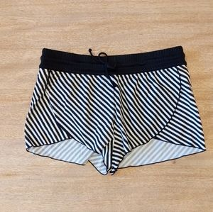 NWT Athleta Slash Stripe Petal Swim Shorts